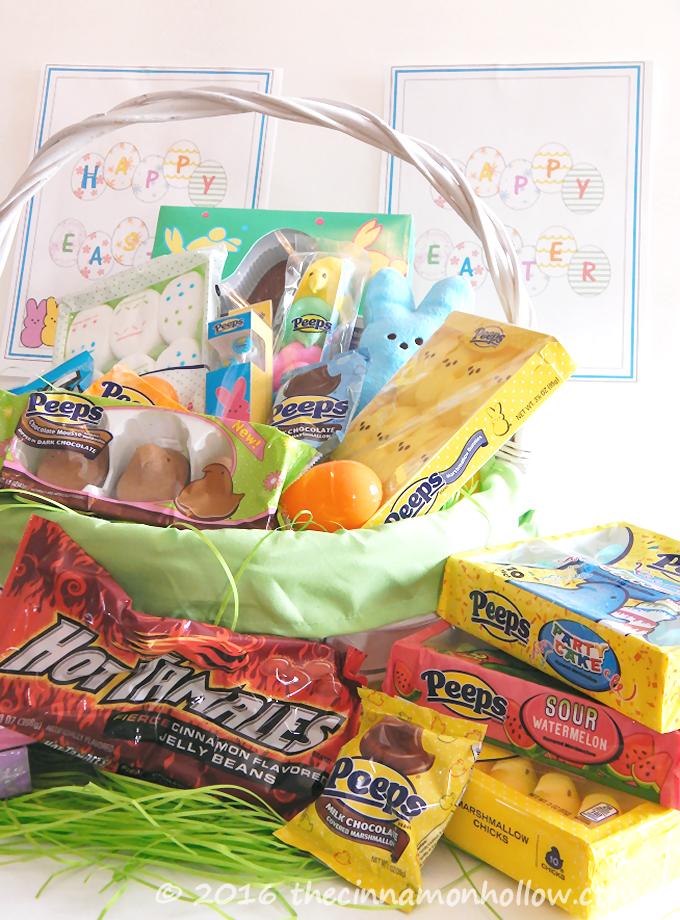 PPEPS Inspired Easter basket