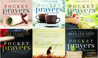 Give The Gift Of Prayer With Pocket Prayers By Max Lucado