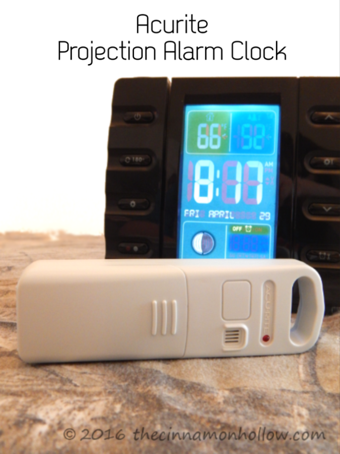 Acurite Projection Alarm Clock