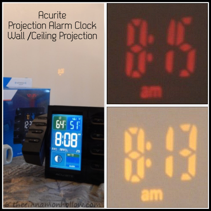 Projection Alarm Clock Don T Oversleep When You Tent Camp