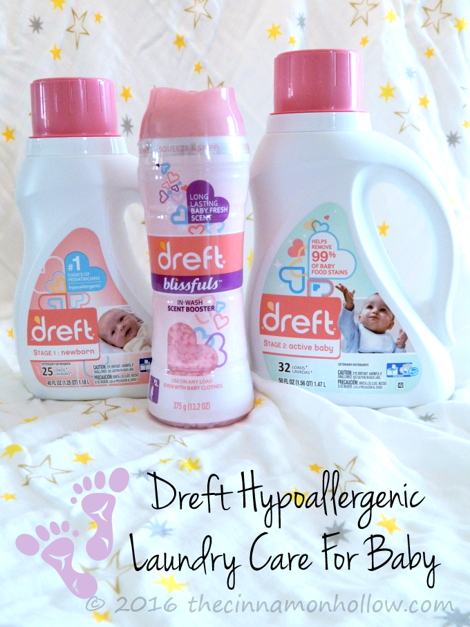 Dreft: Ensure Baby Is Comfortable During Spring Allergy Season