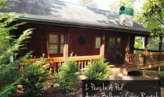 2 Peas In A Pod - Auntie Belham's Cabin Rentals