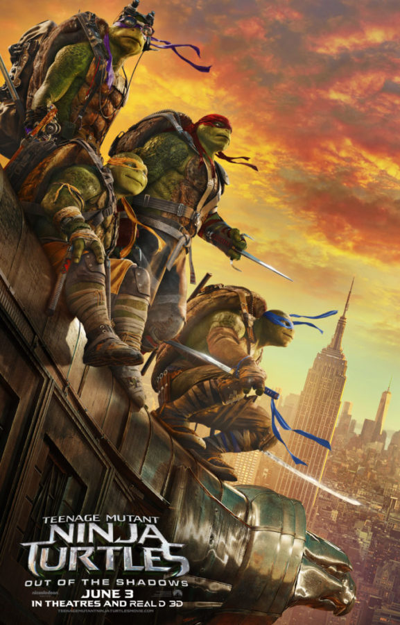 Teenage Mutant Ninja Turtles: Out Of The Shadows Activity Sheets