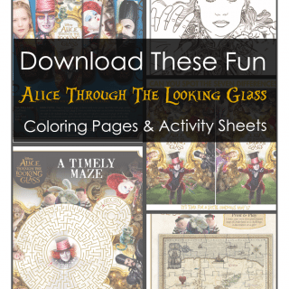 Download These Fun Alice Through The Looking Glass Activities