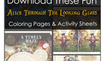 Alice Through The Looking Glass Activities