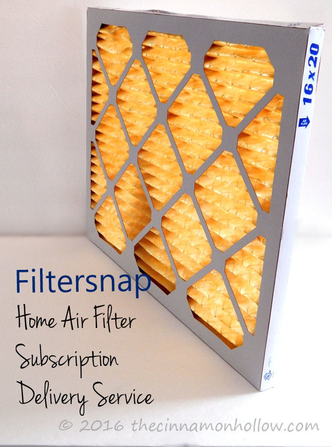 Home air filter subscription service