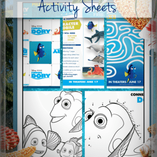Download These Fun Finding Dory Activity Sheets