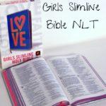 The Holy Bible: Girls Slimline Bible NLT