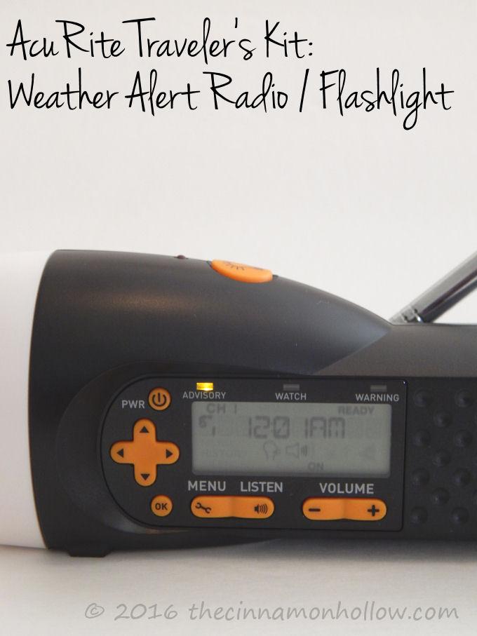 AcuRite Weather Alert Radio / Flashlight