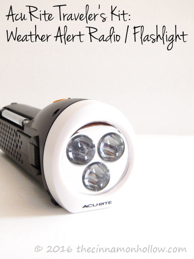 AcuRite Weather Alert Radio / Flashlight