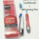 Must-Have Travel Essentials: Colgate Optic White Toothbrush + Whitening Pen