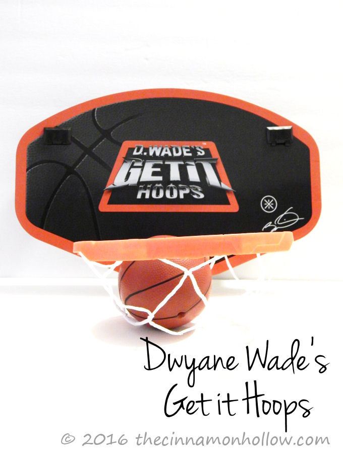 Dwyane Wade's Get it Hoops Indoor Basketball Game