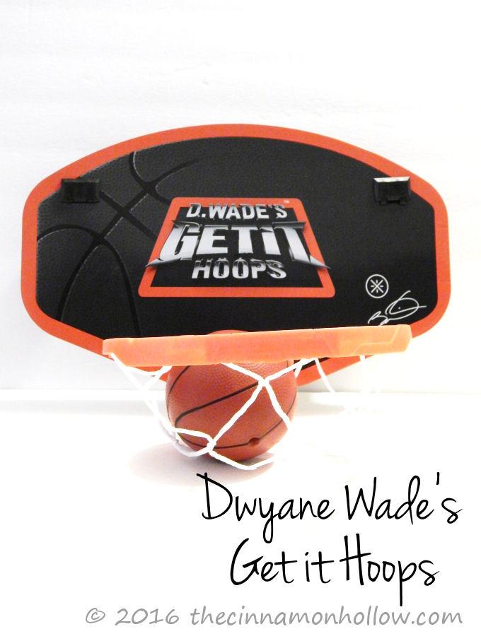 Dwyane Wade's Get it Hoops Indoor Basketball Game