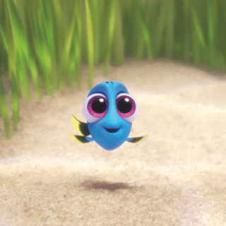 Meet Baby Dory! Finding Dory In Theaters Now.