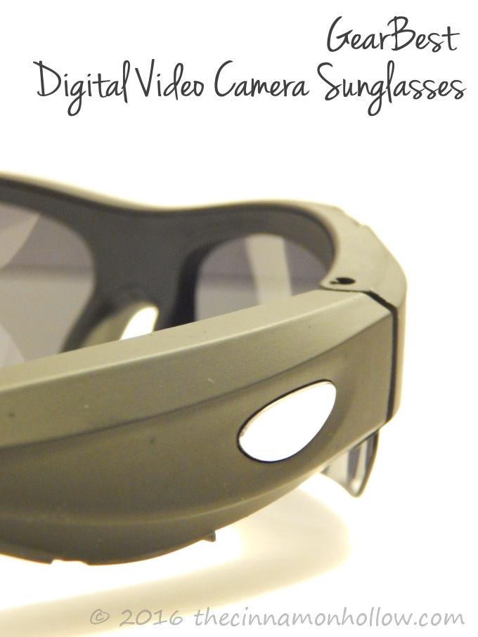 GearBest 32GB HD 720P Mini Digital Video Camera Sunglasses