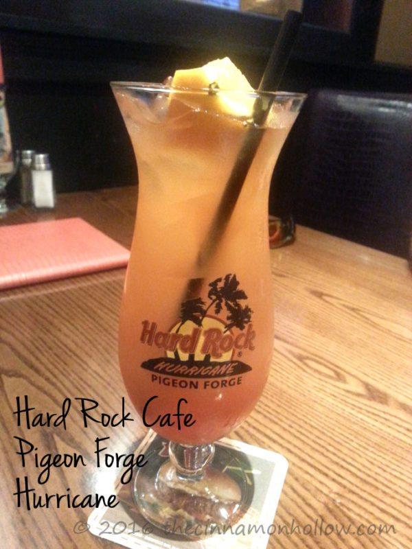 Hard Rock Cafe Pigeon Forge Hurricane Drink