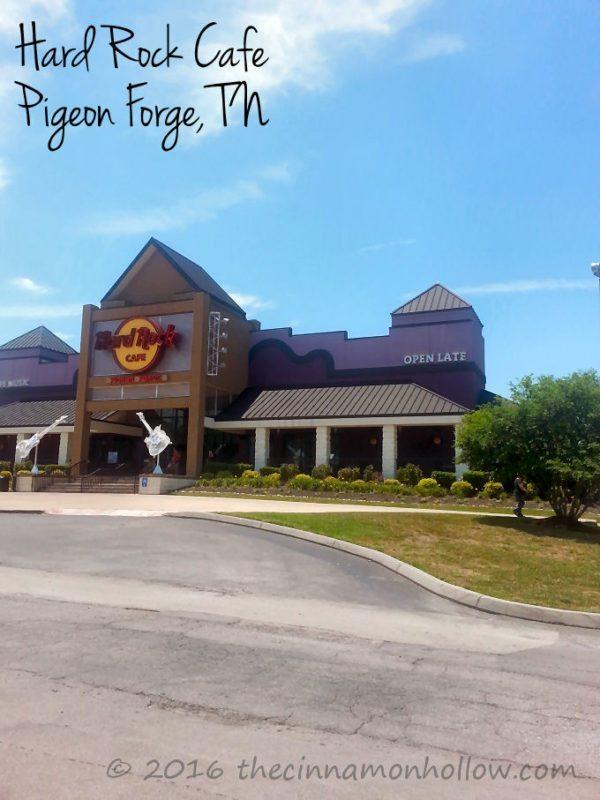 Hard Rock Cafe Pigeon Forge World Burger Tour