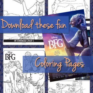 Download These Great The BFG Coloring Pages!