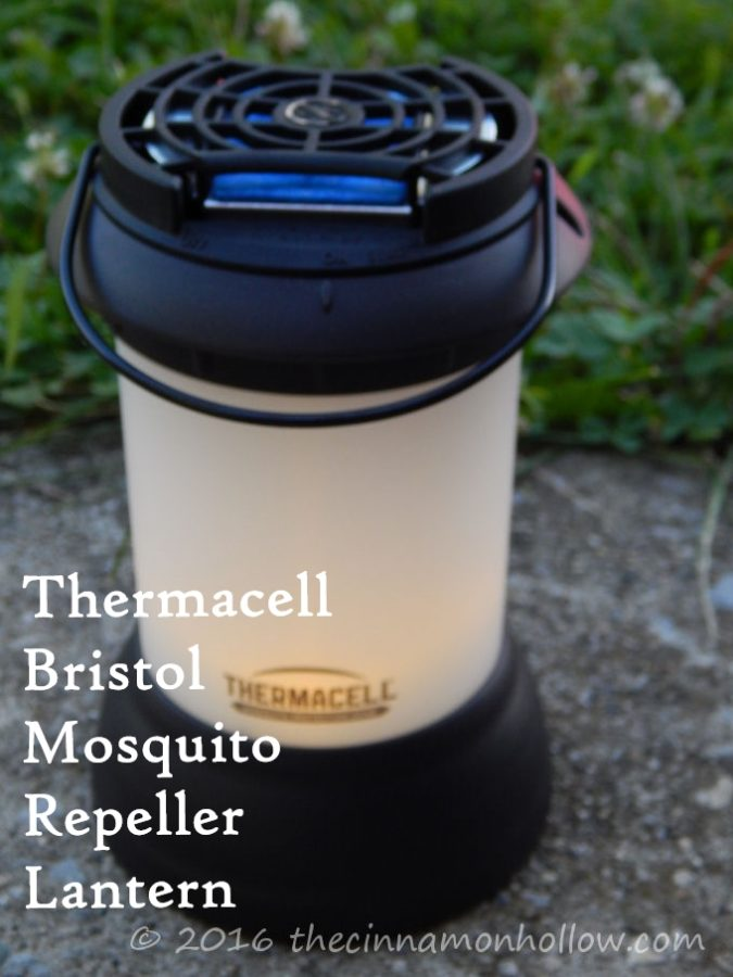 Repel Mosquitoes: Thermacell Bristol Mosquito Repeller Lantern