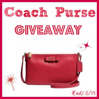 Enter This Fabulous Coach Purse Giveaway