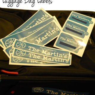 Keep Your Luggage Safe With Luggage Bag Labels