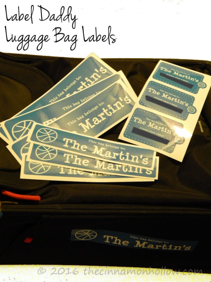 Label Daddy Luggage Bag Labels