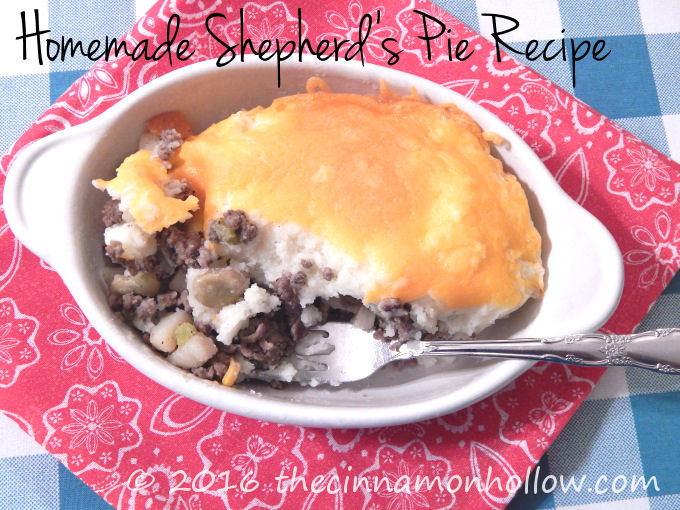 Homemade Shepherd's Pie Recipe