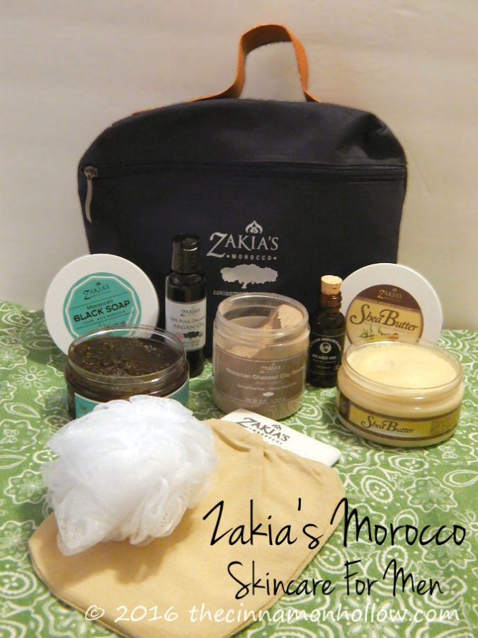 Zakia's Morocco Skin Care For Men