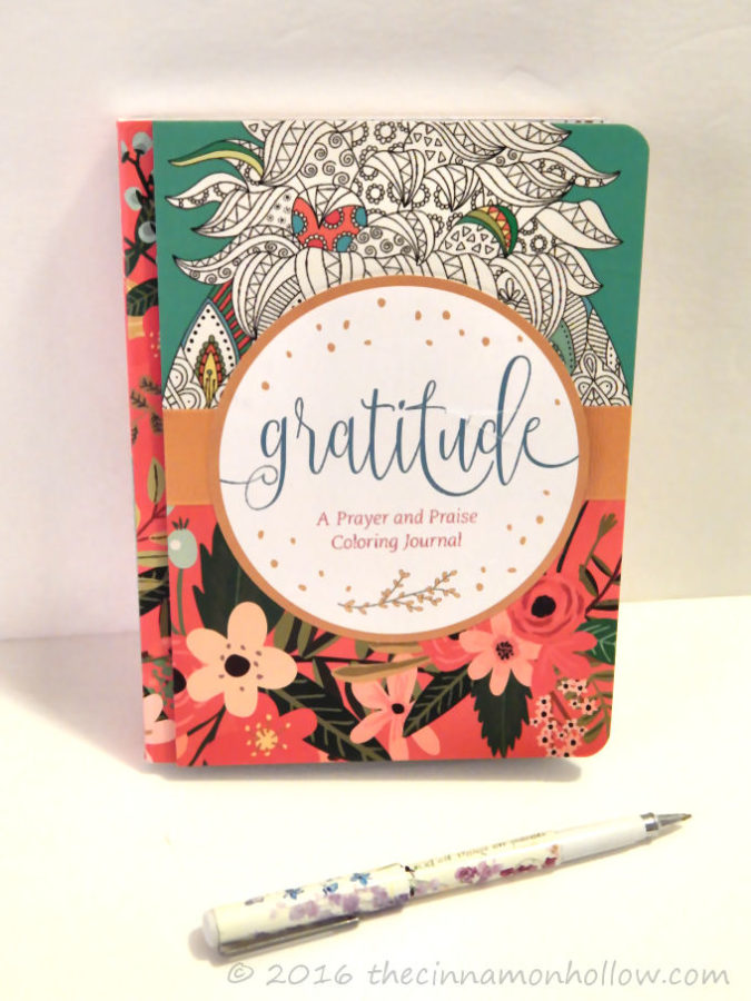 Gratitude: Prayer and Praise Journal With Adult Coloring Pages