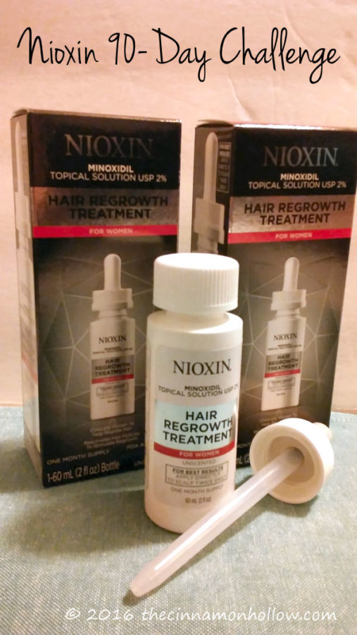 Hair Loss Regrowth With The 90 Day Nioxin Challenge