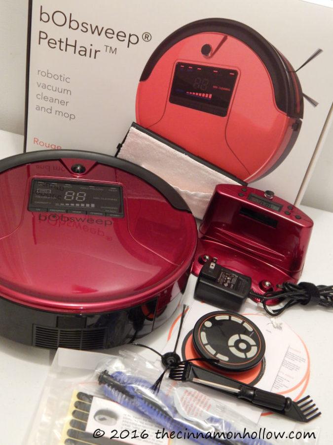 bObSweep PetHair Robotic Vacuum