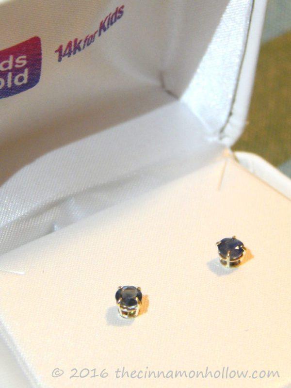 KidsGold -14k for Kids - kids 14k gold earrings