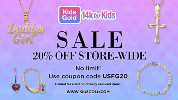 KidsGold -14k for Kids - kids 14k gold earrings