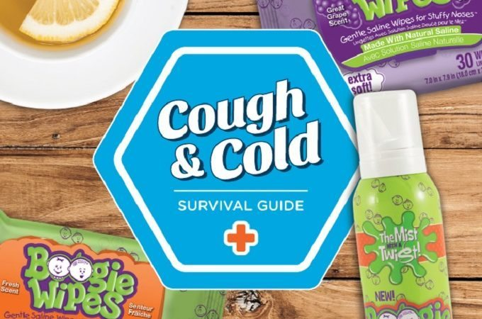 Boogie Wipes Cough and Cold Survival Pack