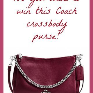 Enter Our Coach Purse Giveaway!