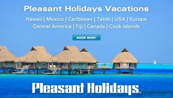 Vacations With Pleasant Holidays - USFG's new travel partner