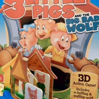 3 Little Pigs Board Game Makes Kids Game Night Fun