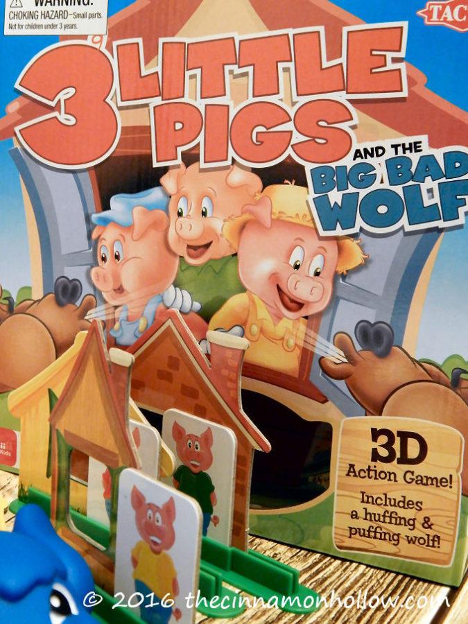 3 Little Pigs Board Game Makes Kids Game Night Fun