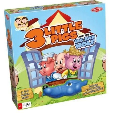 The 3 Little Pigs board game