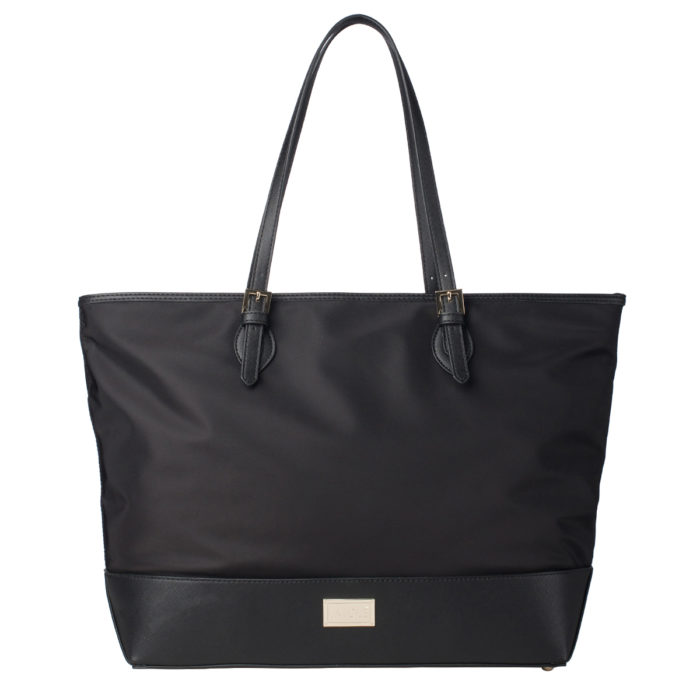 La Cle Water Resistant Large Shoulder Tote