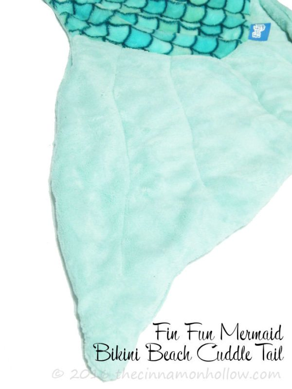Fin Fun Bikini Beach Cuddle Mermaid Tail Blanket