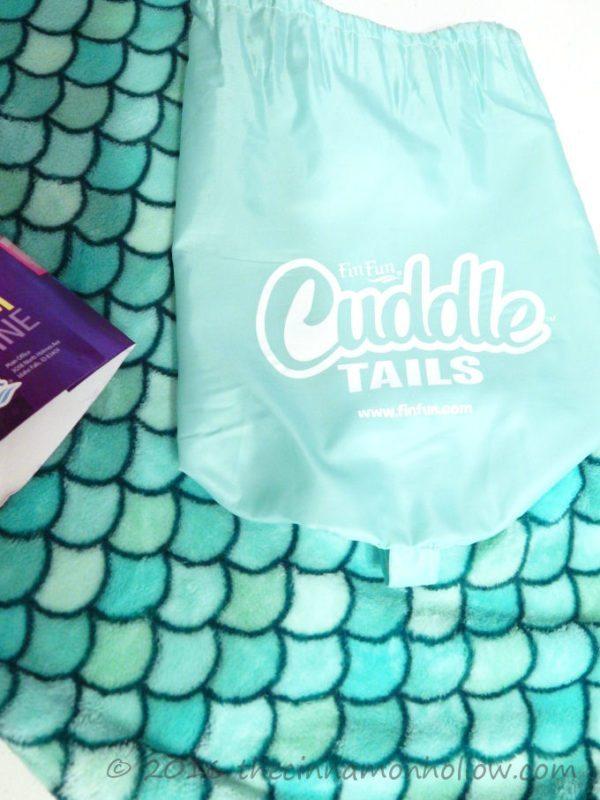 Fin Fun Bikini Beach Cuddle Mermaid Tail Blanket