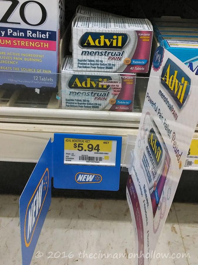 Advil® Menstrual Pain at Walmart