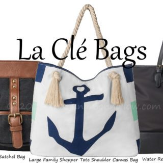 Save On These Beautiful Totes And Hand Bags By Le Clé