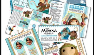 Download These Fun Moana Activity Sheets