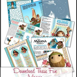 Download These Fun Moana Coloring Pages And Activity Sheets