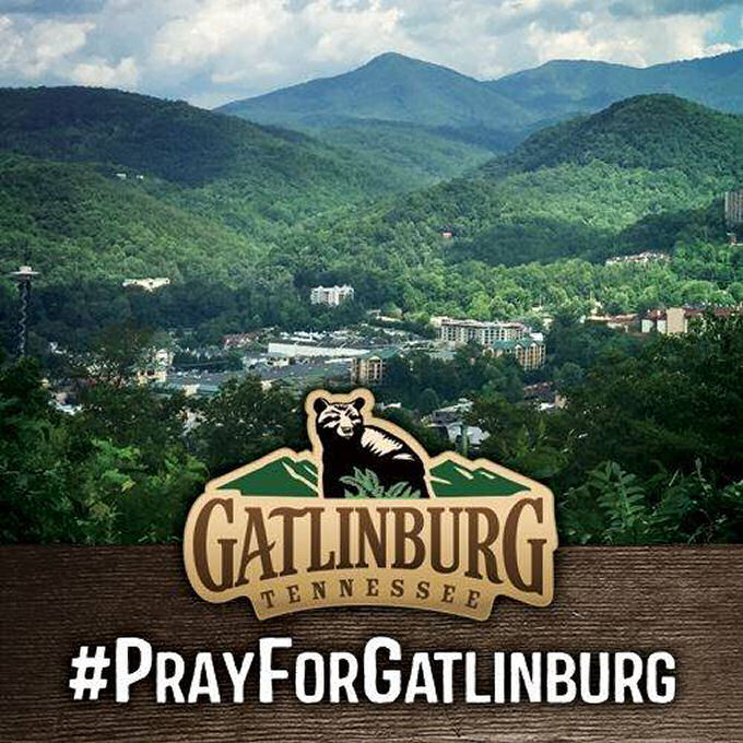 Come Help Me Pray For Gatlinburg, TN