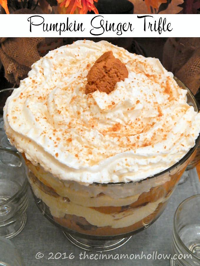 Pumpkin Ginger Trifle Recipe
