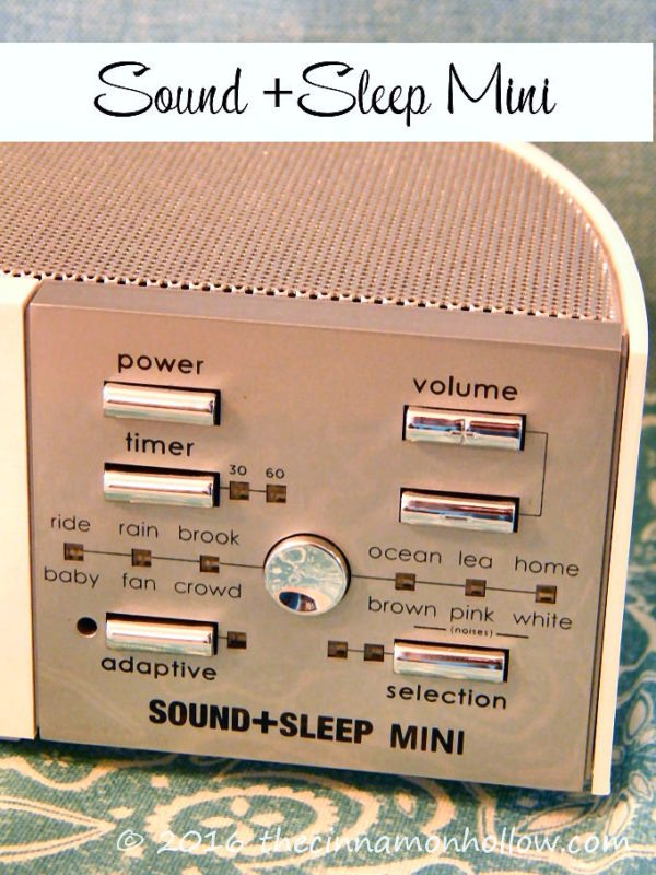 Sound+Sleep Mini Sleep Therapy Machine