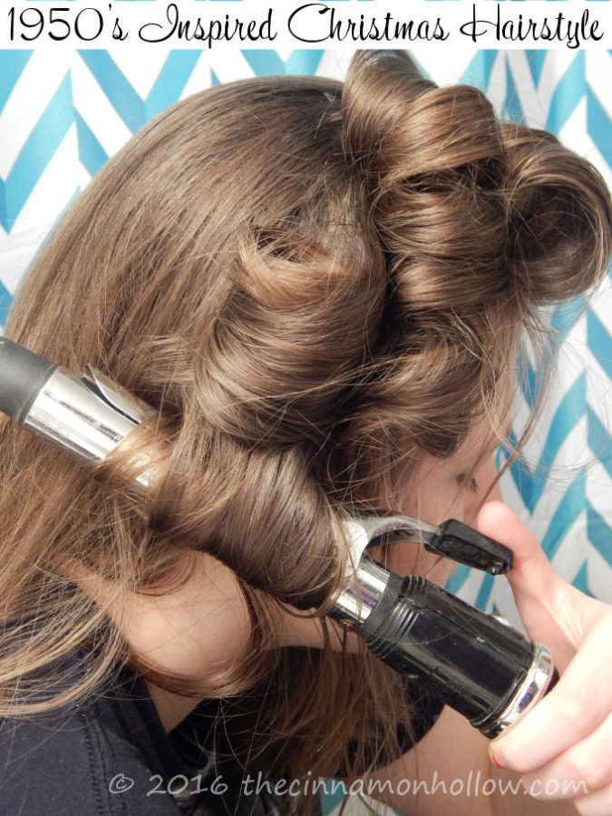 1950's Inspired Holiday Hairstyle And Hairapy Tips